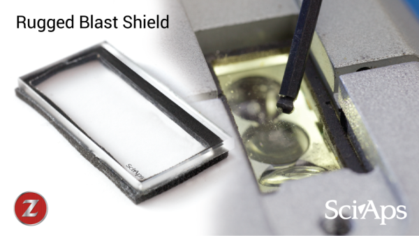 SciAps Z - Rugged Quartz Blast Shield