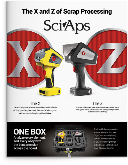 X and Z Brochure Cover