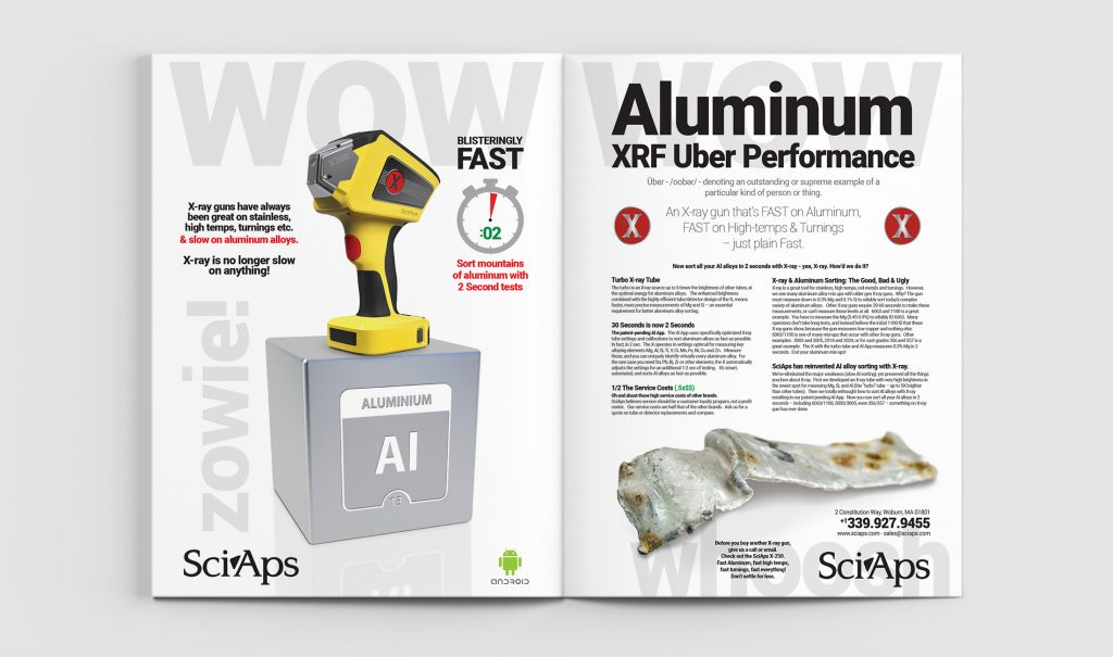 XRF Aluminum Performance Ad