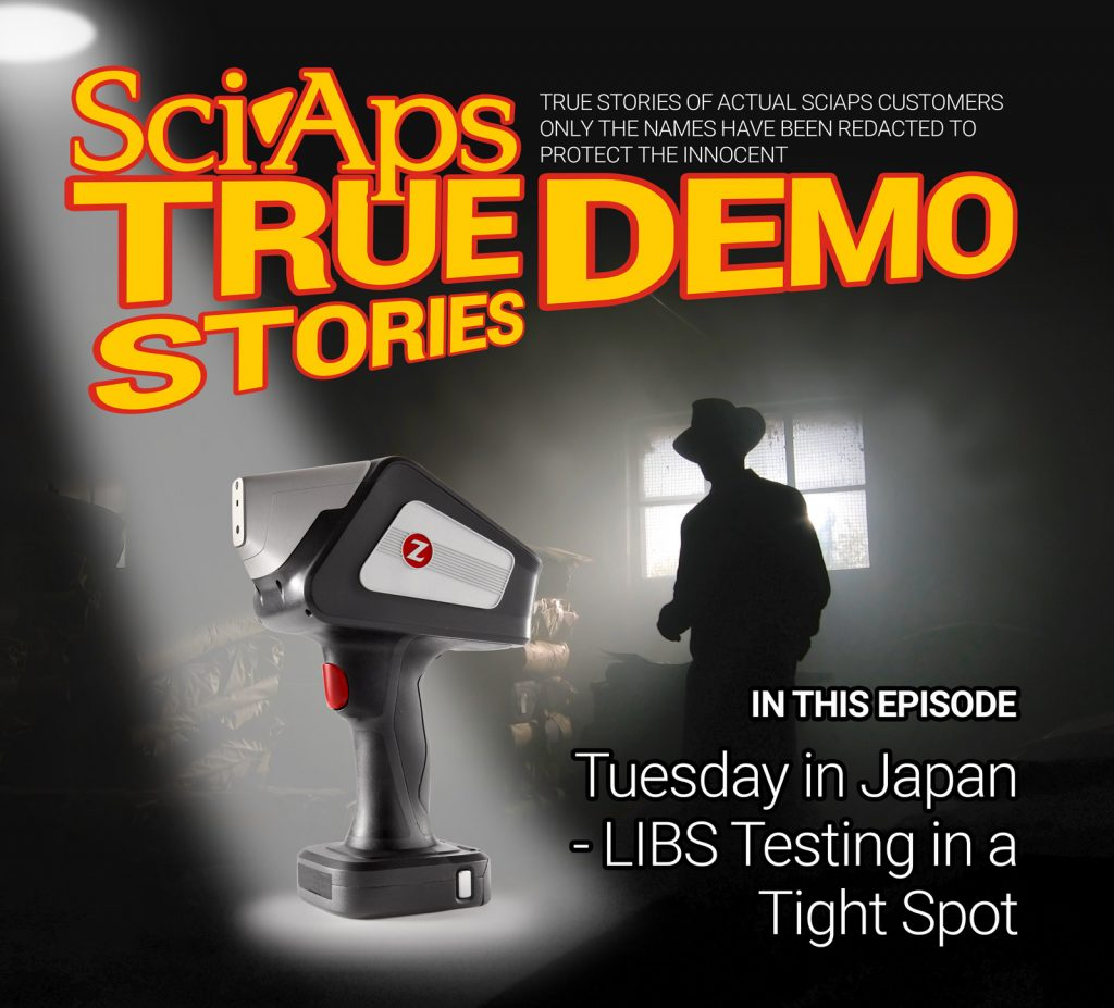 True Demo Stories: Tuesday in Japan - LIBS testing in a tight spot