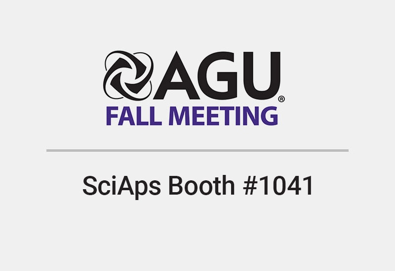AGU Fall Meeting 2018 - SciAps Booth #1041