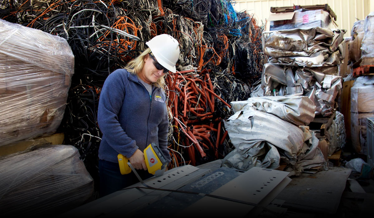 Better, Faster, Scrap Metal Sorting