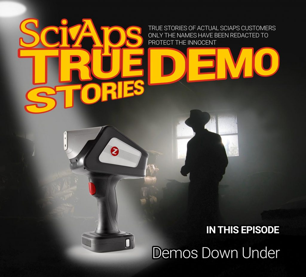 SciAps True Demo Stories, Episode 6: Demos Down Under