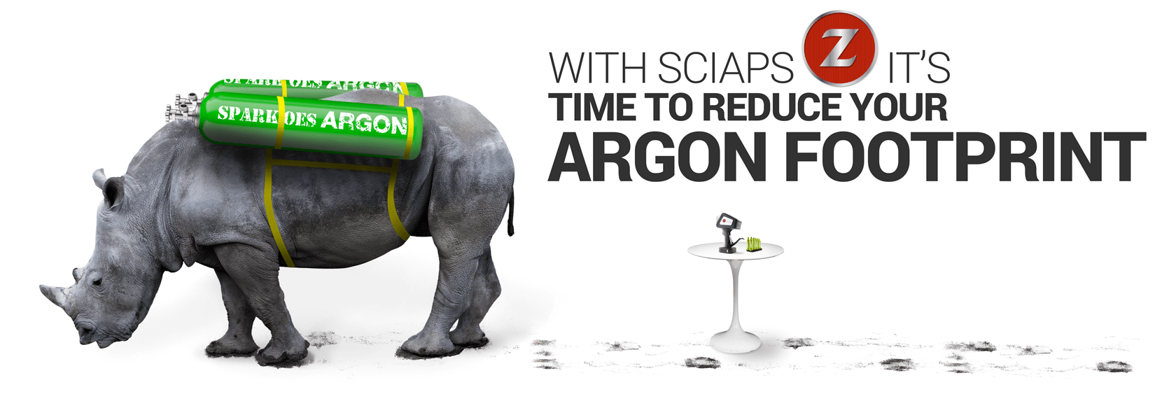 With SciAps Z it's time to reduce your Argon Footprint