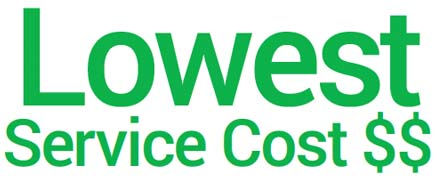 Lowest Service Costs