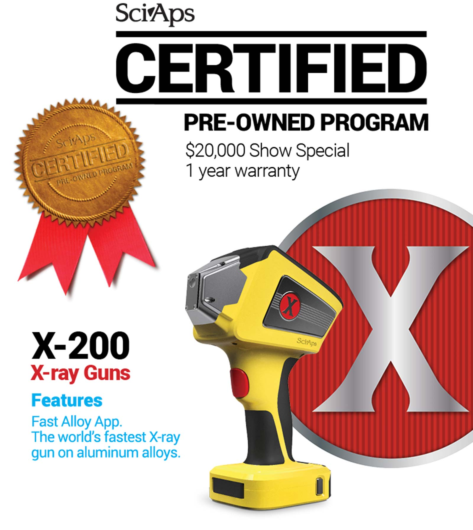 certified pre-owned X x-ray guns