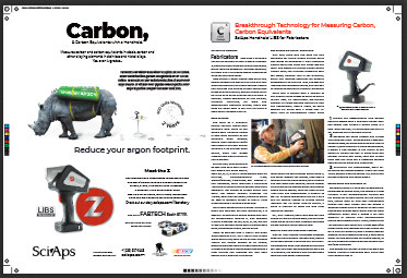 The fabricator magazine October 2019 Carbon Advertorial