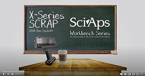 SciAps X-series SCRAP video