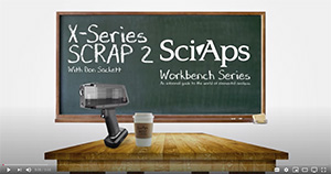SciAps X-series SCRAP video 2