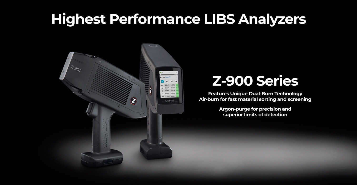 Highest Performance LIBS Analyzers Features Unique Dual-Burn TechnologyAir-burn for fast material sorting and screeningArgon-purge for precision and superior limits of detection Elemental AnalysisAlloys – Mining – Environmental – Forensics – General Analytical Analysis